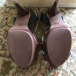 MICHAEL Michael Kors Shoes - Michael Kors Niki Cross Strap Shoes